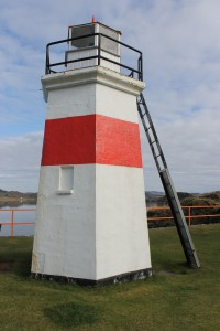 The beacon at Crinan