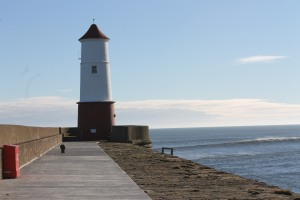 The lighthouse at Berwick upon Tweed
