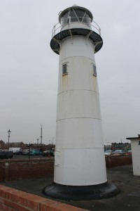 The Heugh lighthouse on The Headland in Hartlepool