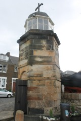 The old lighthouse at North Queensferry
