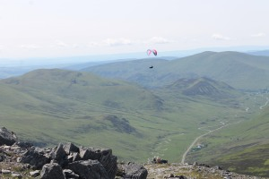 View from the top of The Cairnwell