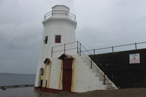 A lighthouse-esque beacon in Wick harbour