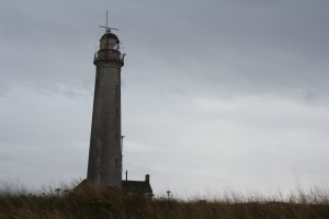 Buddon Ness High lighthouse