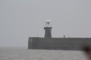 One of the two lighthouses at Avonmouth docks