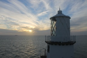 Sunrise at Black Head lighthouse