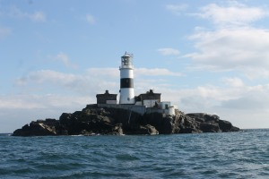 The Maidens lighthouse