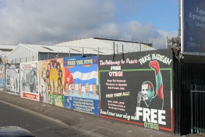 Some of the murals in West Belfast
