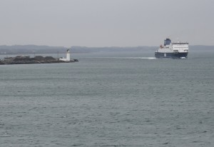 Arriving in Cairnryan