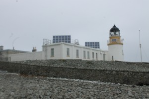 Ailsa Craig lighthouse