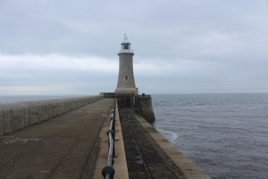 The lighthouse on Tynemouth pier
