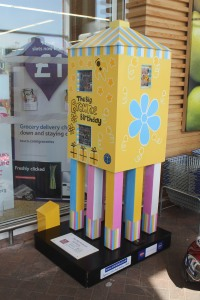 The Brownies lighthouse at Tesco