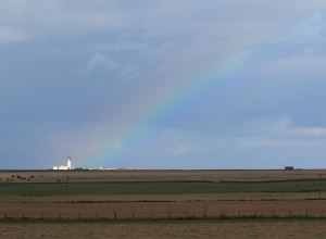 The lighthouse at the end of the rainbow