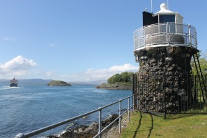 The beacon at Dunollie