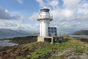 The beacon at Port Appin