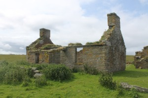 Just one of the derelict houses