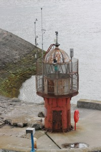 Heysham harbour lighthouse