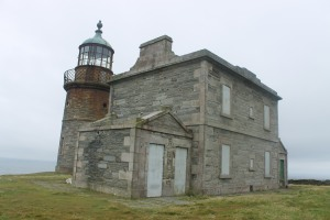 The lower of the 1818 lighthouses