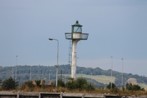 The middle pier light at Granton
