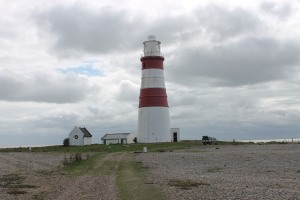 The lighthouse and its buildings