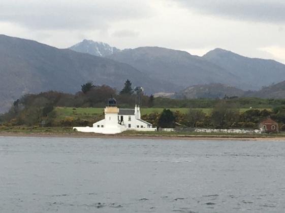 Corran across the loch