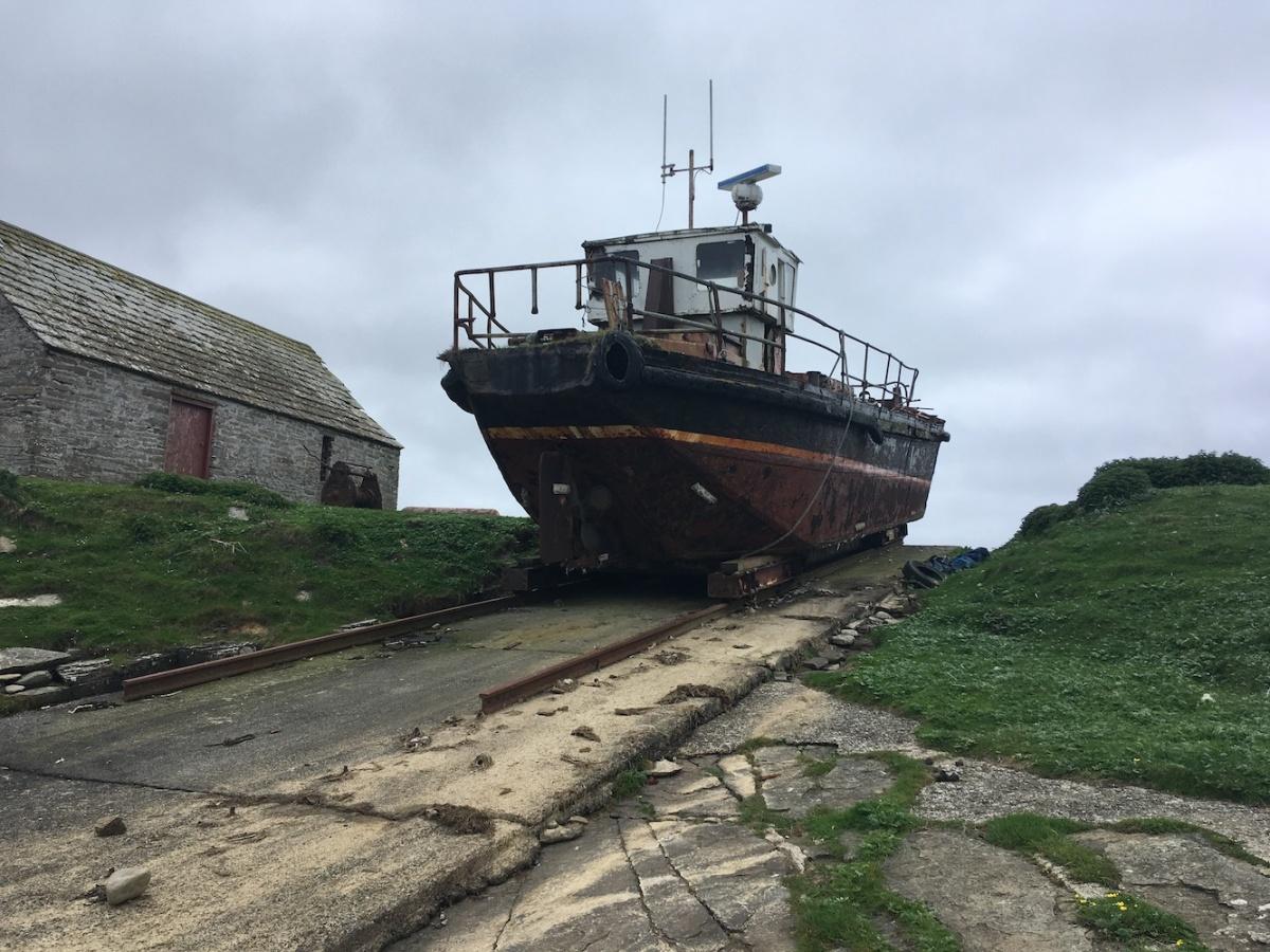 Stroma old boat