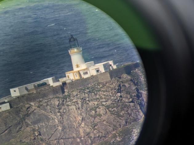 MF through telescope