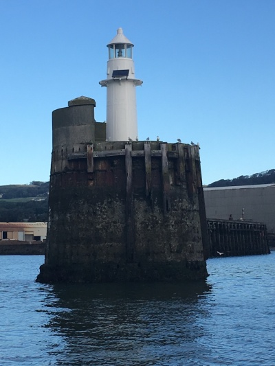 Burntisland West Pier lighthouse