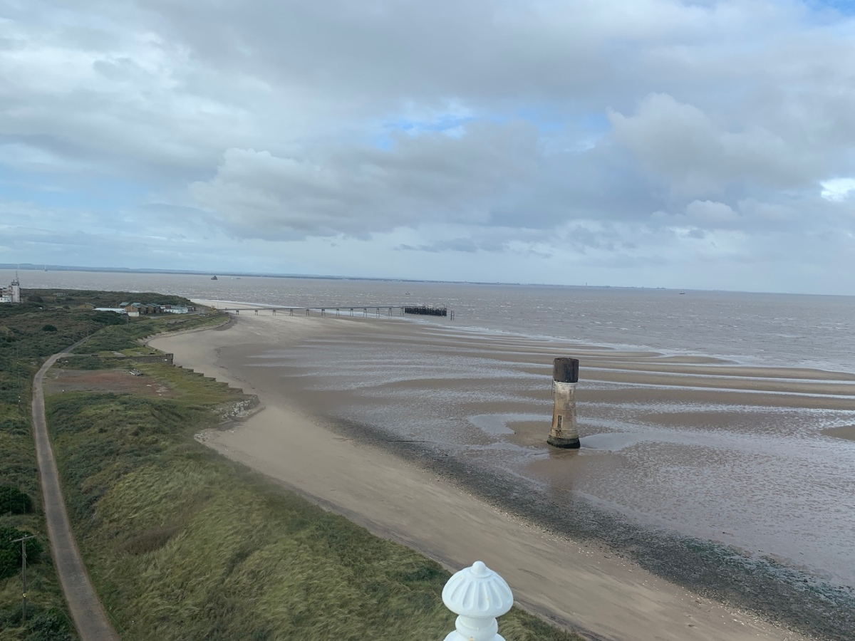 View from Spurn lighthouse